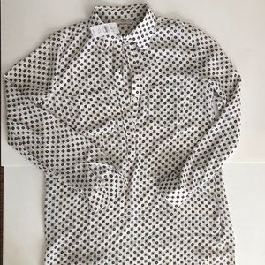 Loft patterned work shirt